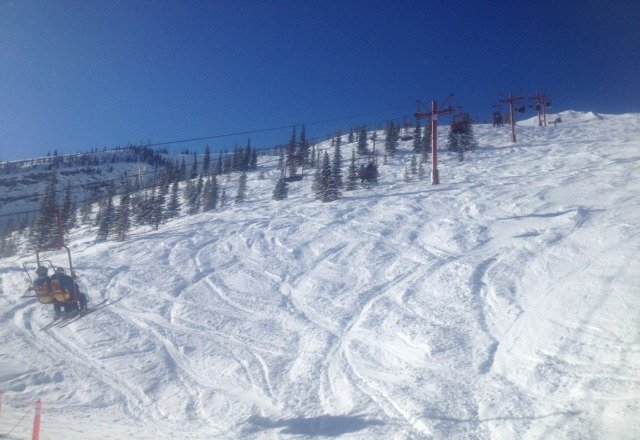 It was a perfect day on sunday, couldnt have asked for better conditions.