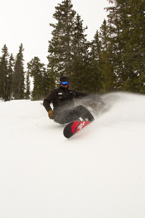 Powder at Snowbird Resort in Utah. Photo courtesy Snowbird