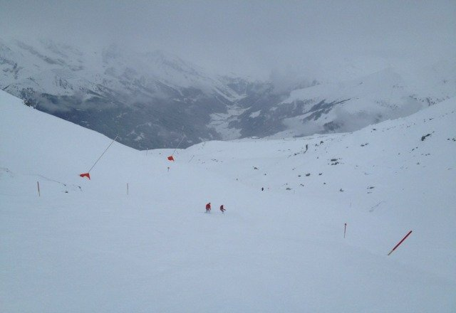 more fresh powder! awesome conditions everywhere! were from Pennsylvania, here for a few days. gota love Austria