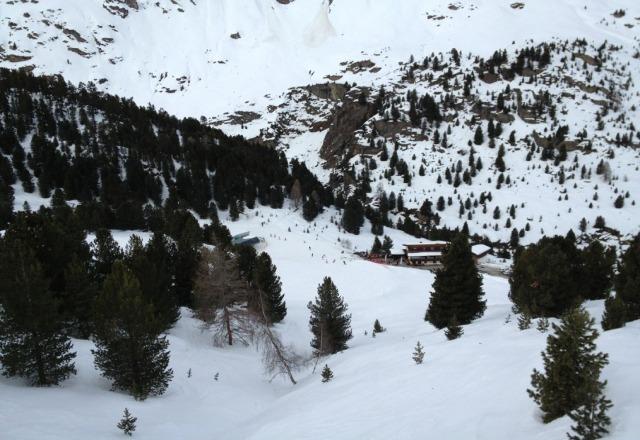 great skiing at Obergurgl.