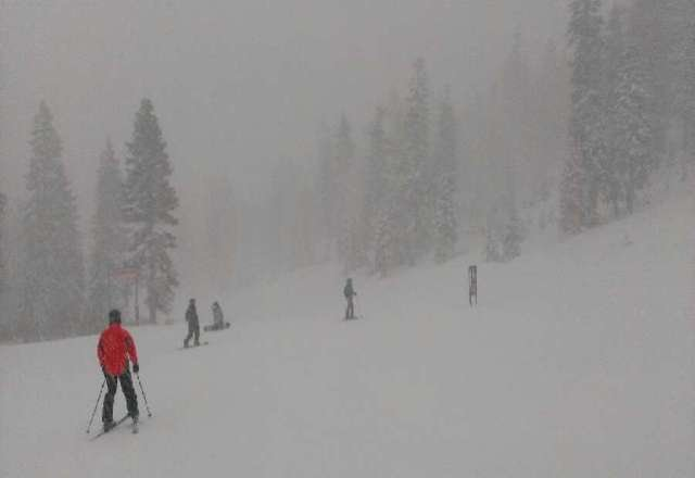 awesome snow... great conditions