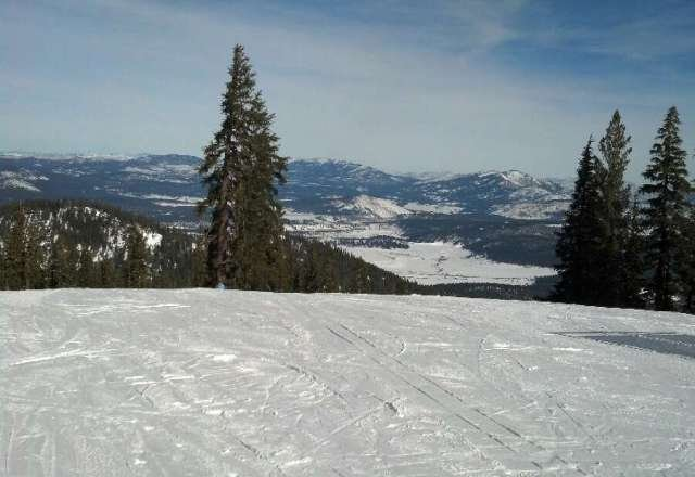 blue bird day up here...nothing but grooms awesome day