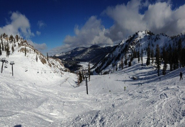beautiful day here at squaw