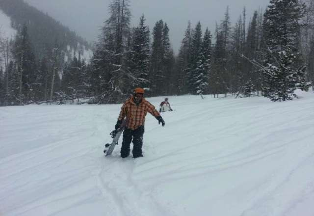 stuck in pow. great day