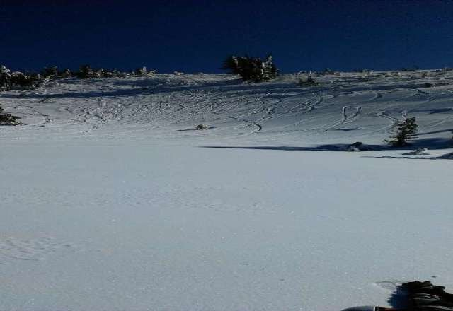 few powder patches on the backside this weekend!!!!