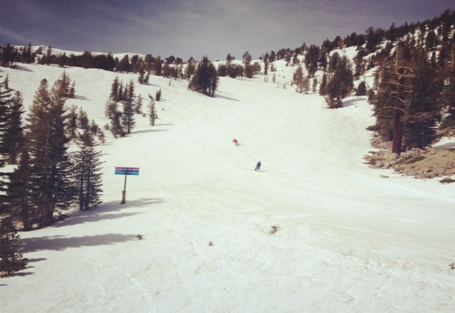 Powdery and wonderful, not crowded either