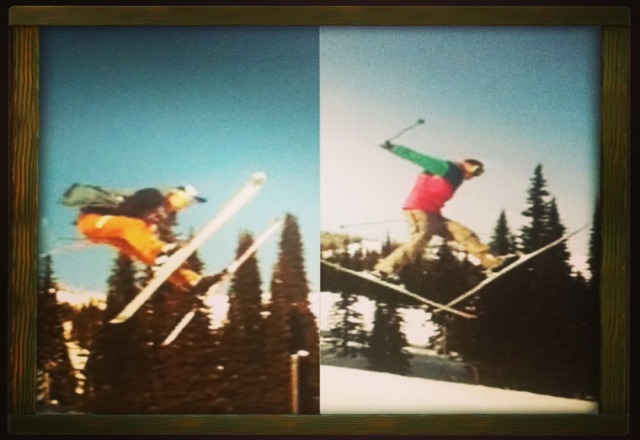 sunny park laps at schweitzer are the best! Some throwback action just makes it better!