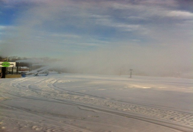 makin snow!!!1-2-13