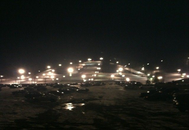 Pretty darn good skiing, especially at night. I cant wait for the Runway slopes to open.