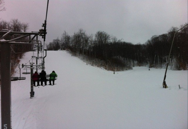 North Peak is the place to be today!
