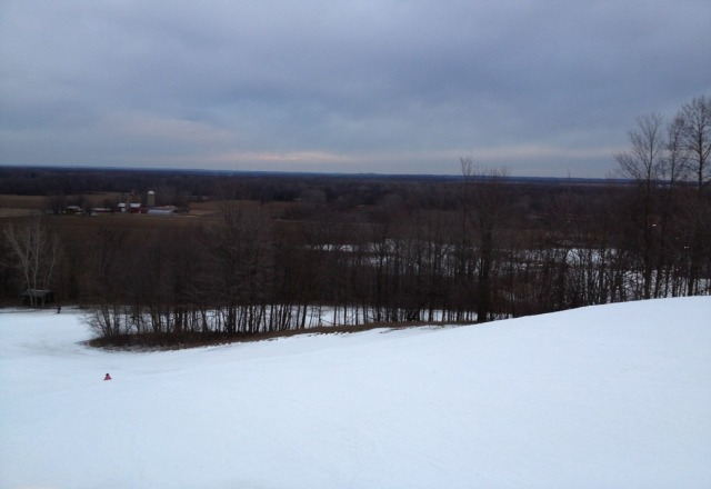 this was pre- big snow storm this past week. still great skiing. brother went yesterday and said it's 100 times better now.