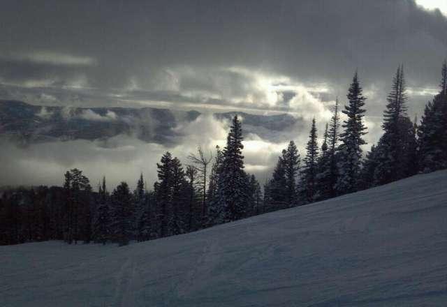 Bridger Bowl is skiing great