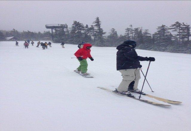 Saturday was Epic. Amazing powder. Skiers paradise!