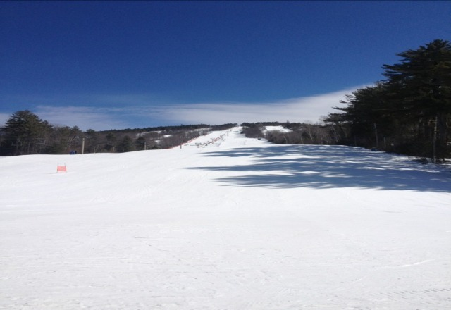 best spring skiing ever compared to last year all trails open!