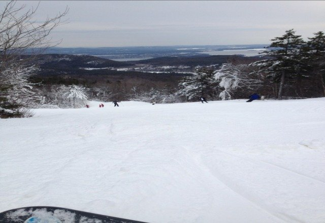 awesome day skiing at gunstock today!!
