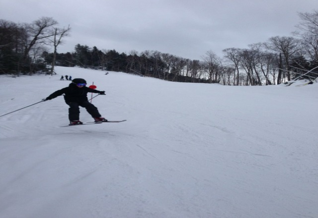 great day at loon!! short lines and snow was great....