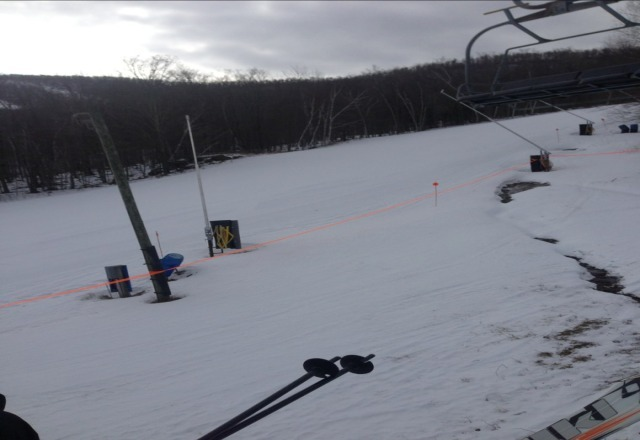 solid groomer day no crowds at all