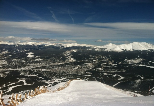 its a blue bird day at Alpine Valley!