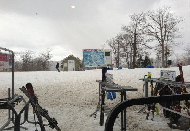 snowing at jack frost awesome conditions!  TC