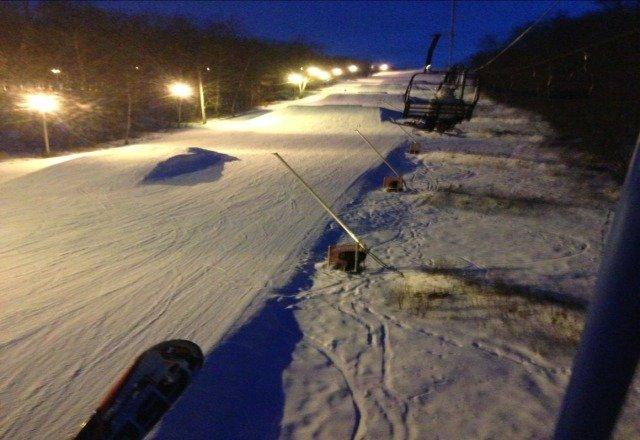 Awesome day to ski gotsome great pocono pow pow (powder)