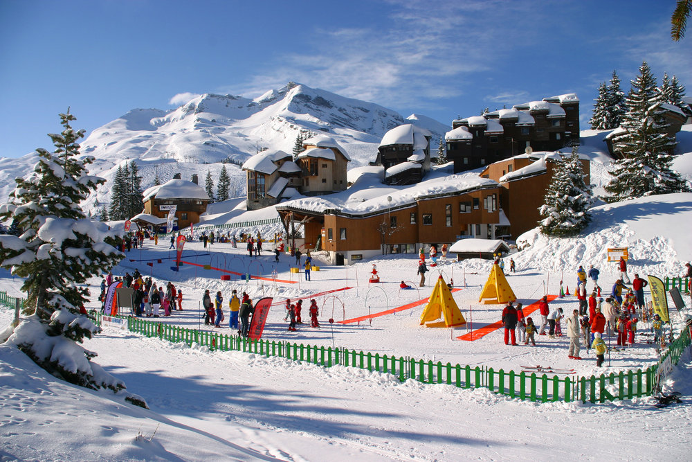 Village des enfants in Avoriaz, France - © Avoriaz Tourism
