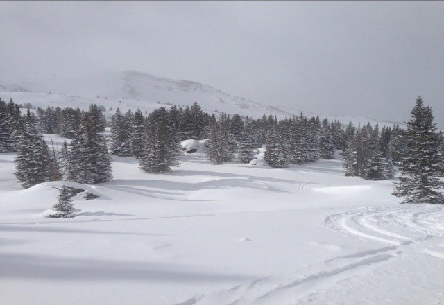 What can I say but AMAZING conditions today. We were making fresh tracks all day. Skiing nirvana here. 2 more days here.