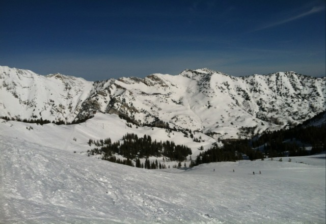 Alta was amazing! It was our first time here and the snow was awesome, the slopes were so much fun and there were slopes for everyone. Definitely not a posh resort but totally worth going! No lines and good food!