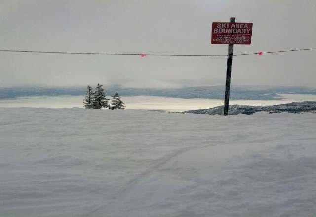 Was there today 1/26/12, great conditions and snowing at the moment(4:45 MT)! Picture from 10,570 feet