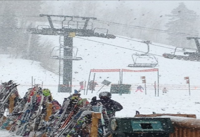 New snow at Deer Valley, great conditions up top!