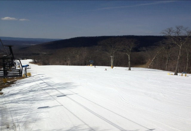 there is base to last through next weekend. Enjoy a day of April Skiing in the midatlantic!