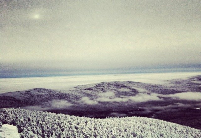 amazing view from top of mtn ,skiing was amazing #bestineast