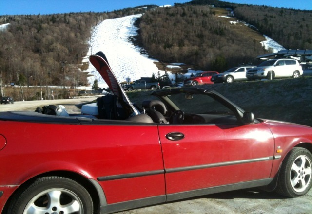 yea I agree snow does not stay on trees at 60 deg F this pic shows what killington is about in the spring