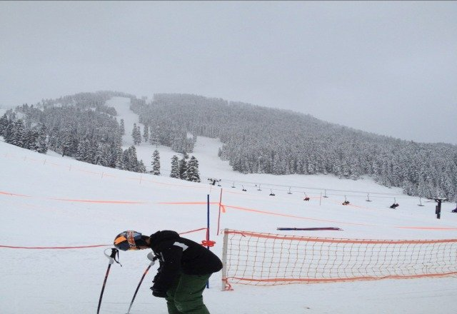 Great snow, packed to fresh powder, tons of it!