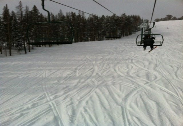 Great day today with soft snow and good conditions.
