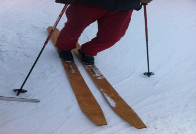 local handmade skis :)