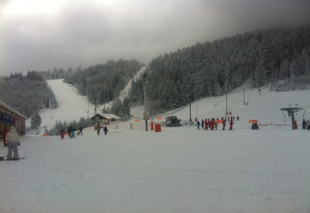 loads of snow fallen today and yesterday powder galore!!