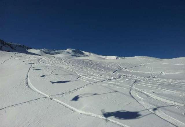 Sabato 26/01. Tanta neve fresca e tempo bellissimo.