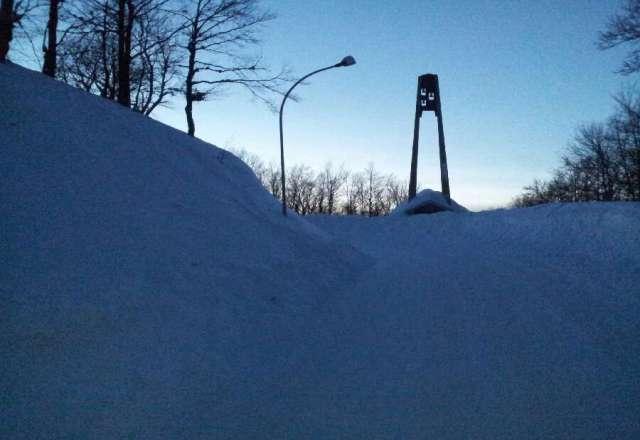 Neve compatta non fresca ma tanta tanta tanta ! Molto affollato giornata fantastica sole a non finire. 27 gennaio ore 18