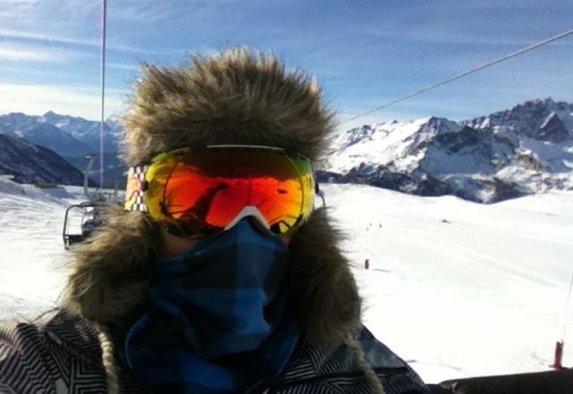 neve veramente fantastica e giornata stupenda!!