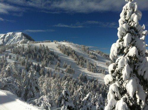 Le domaine skiable de la Colmiane - © JC Desens