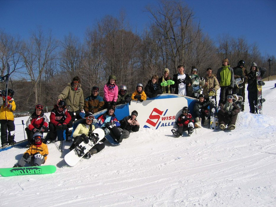 Freestyle group at Swiss Valley