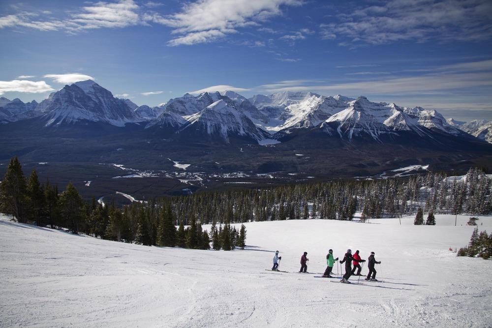 Ski Big Three  Lake Louise 2.2.12
