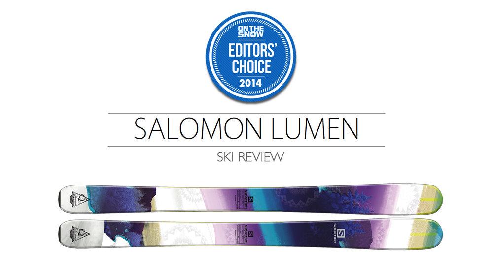 2014 Women's All-Mountain Editors' Choice Ski: Salomon Lumen