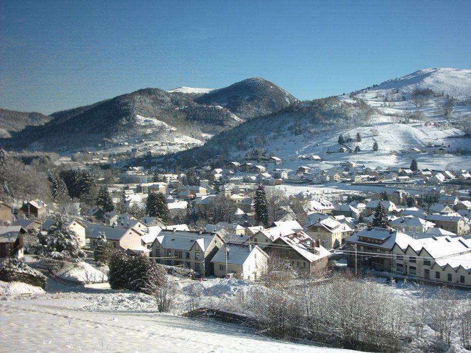 Vue sur la station village de Bussang - Larcenaire - © Office de tourisme des Ballons des Hautes-Vosges