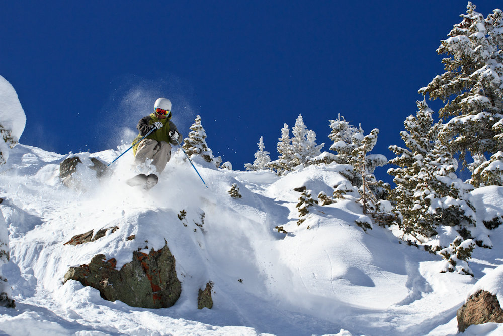 Bert Flores at Taos. Photo by Liam Doran