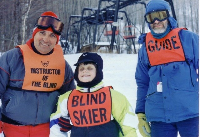 Come and support skiing for the blind tomorrow tuesday oct 29th! blind skiiers along with their guides ski free all day!  -snowbowl staff
