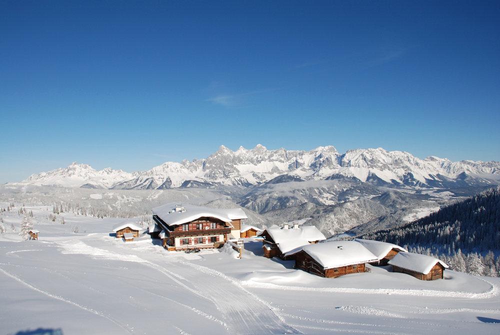 Impressionen aus den Skigebieten Reiteralm und Fageralm - © ski-reiteralm.at