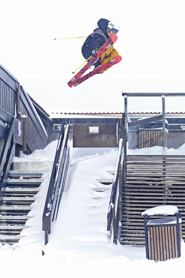 Anders Backe - 180 på Fjellcaféen - © Kalle Hägglund