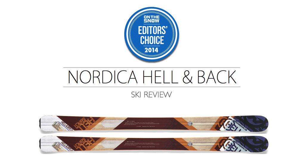 2014 Men's All-Mountain Editors' Choice Ski: Nordica Hell & Back