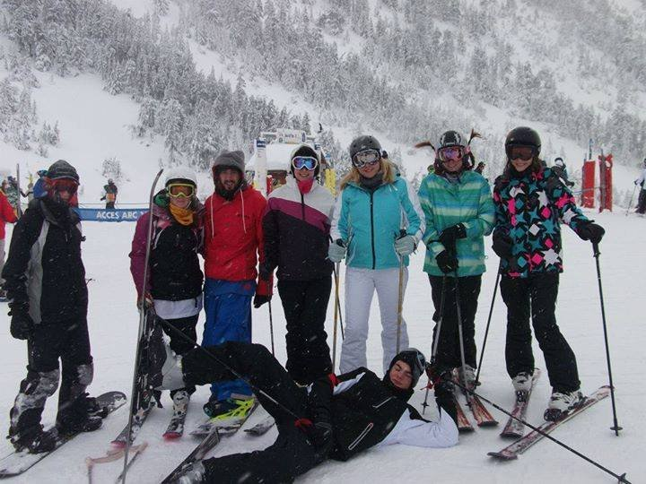 Ski time with Heriot Watt - © HWSSC